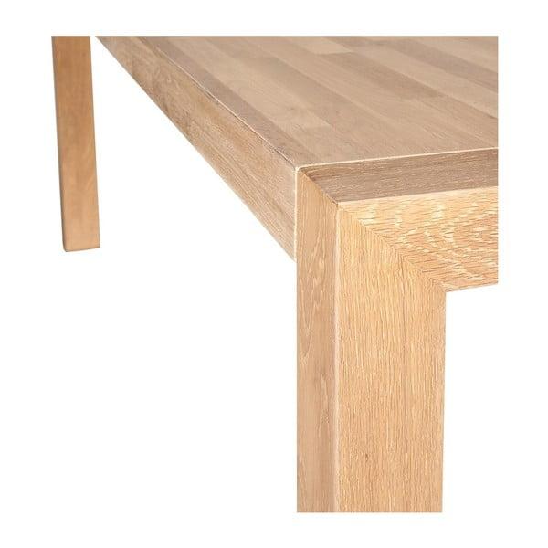 Jídelní stůl SIT z masivního dubu, 180 cm