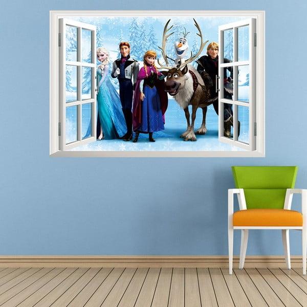 Samolepka s 3D efektem Fanastick Frozen