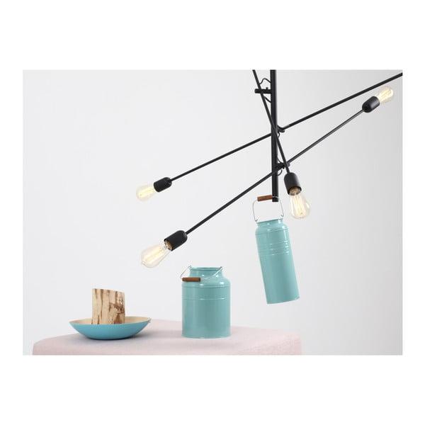 Černé závěsné světlo pro 6 žárovek Custom Form Twigo
