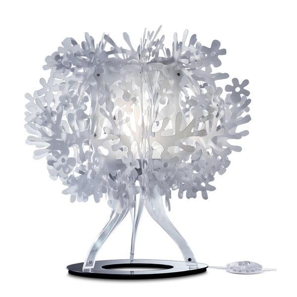 Stolní lampa Fiorella White