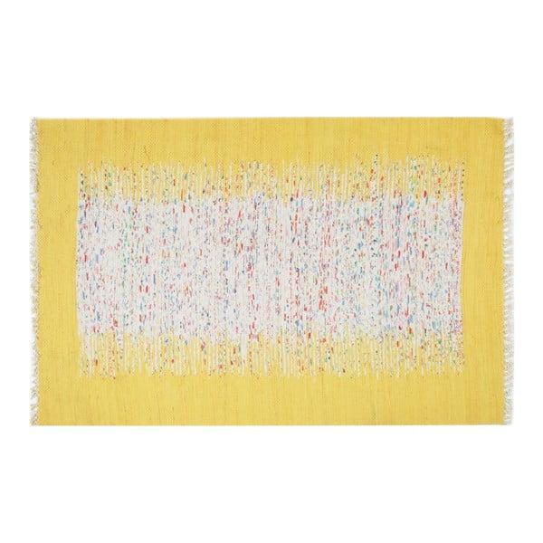 Koberec Contour Yellow, 150 × 230 cm