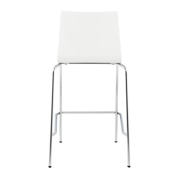 Bílá barová židle Kokoon Cobe, výškasedu65cm
