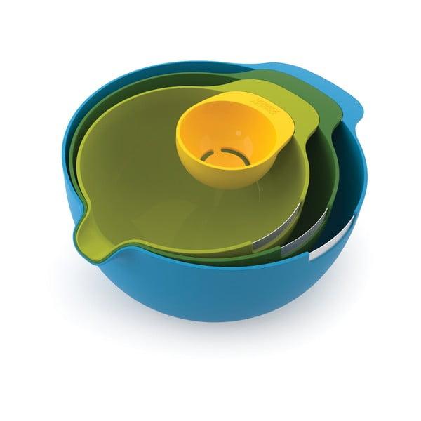 Set 3 boluri cu separator de gălbenuș de ou Joseph Joseph Nest Mix