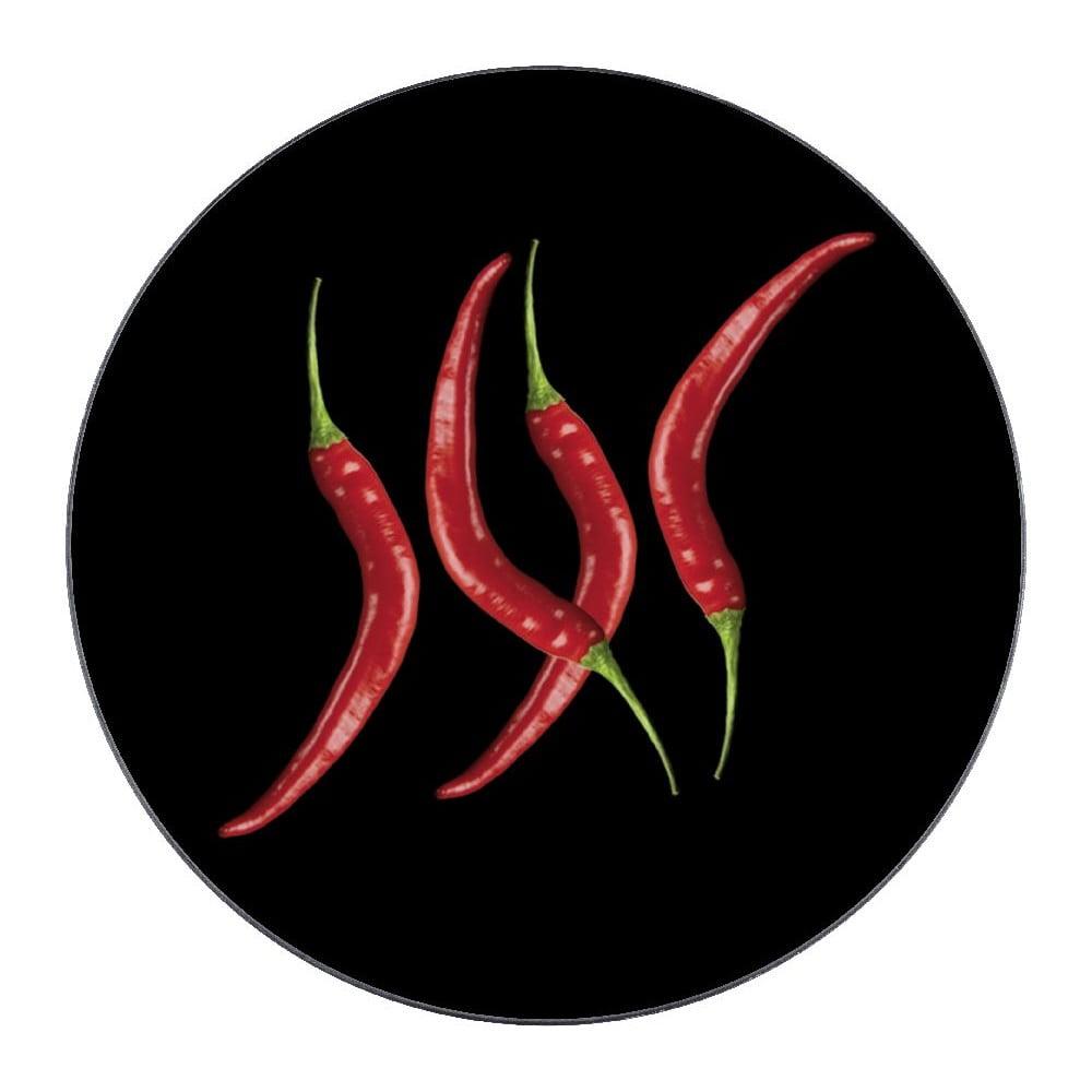 Skleněná podložka pod hrnec Wenko Hot Pepper