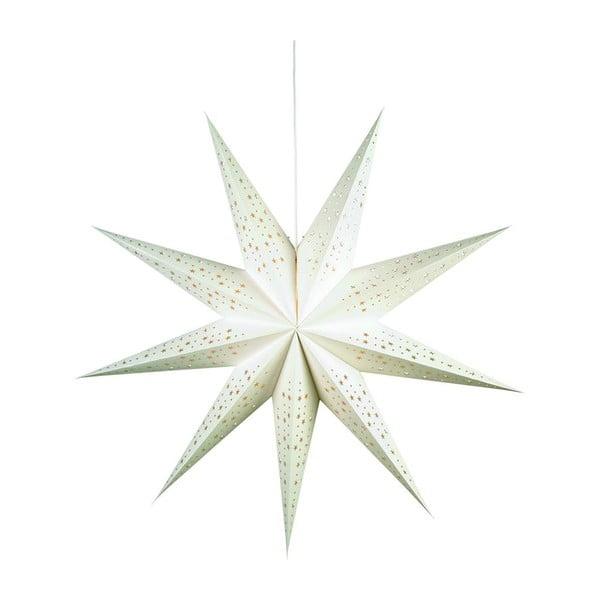 Svítící hvězda Solvalla White, 100 cm