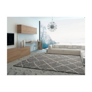Šedý koberec Universal Kasbah Grey, 160 x 230 cm