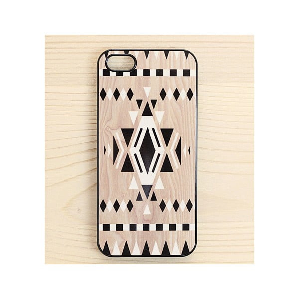 Obal na iPhone 5, Navajo Print in Black