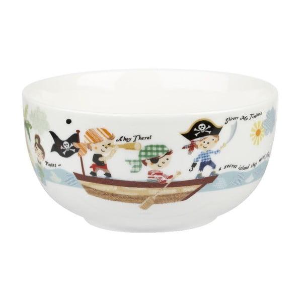 Dětský jídelní set z kostního porcelánu Churchill China Pirates