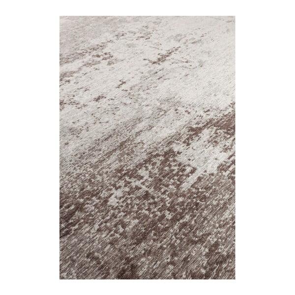Hnědý koberec Dutchbone Caruse, 200x300cm