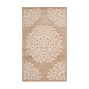 Béžovokrémový koberec vhodný i na ven Safavieh Delancy, 99 x 160cm