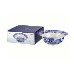 Bílomodrá porcelánová miska Spode Blue Italian, ø 33 cm