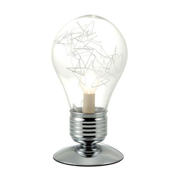 Izzó alakú asztali lámpa, 16 x 31,5 cm - Brandani