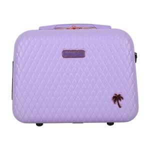 Fialový příruční kufr LULU CASTAGNETTE Rachel, 17l