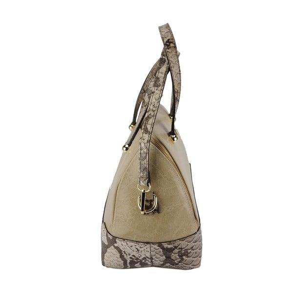Kožená kabelka Jessy Taupe