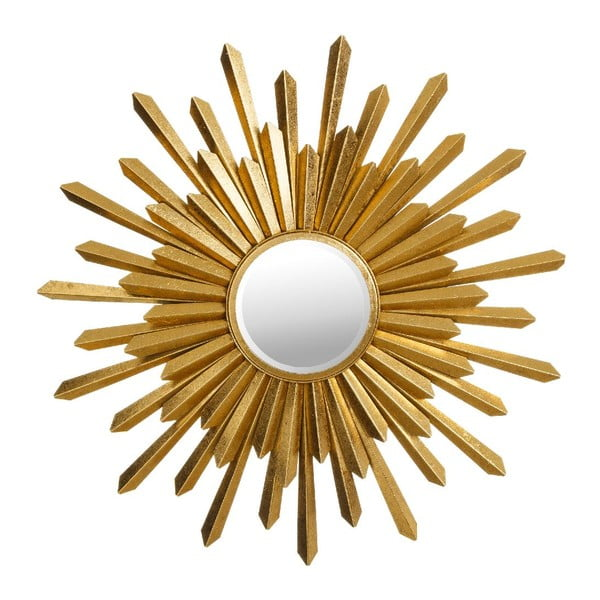 Zrcadlo Gold Sunshine, 76 cm