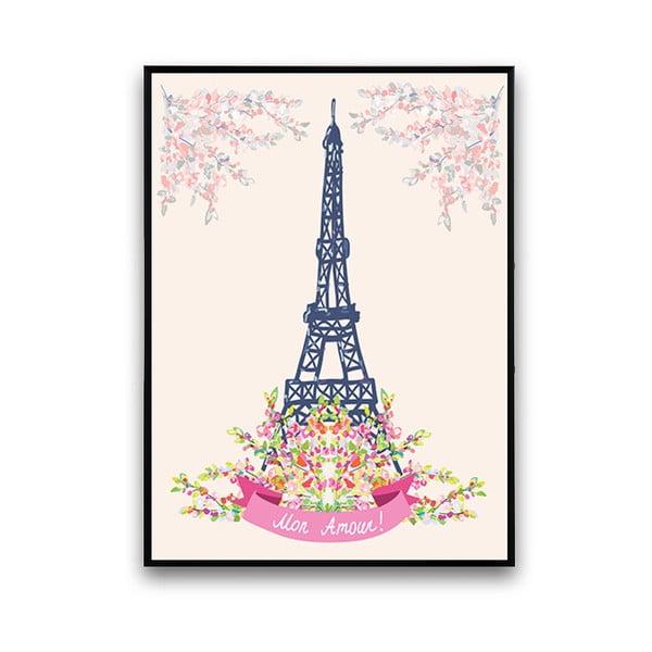 Plakát Mon Amour!, 30 x 40 cm
