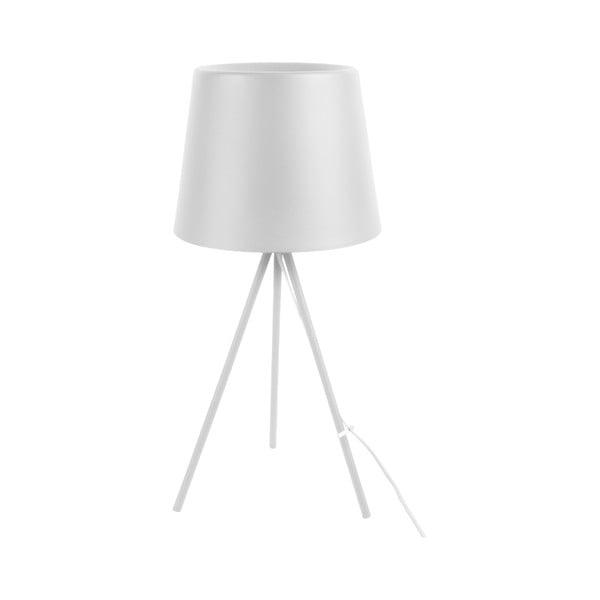 Biała lampa stołowa Leitmotiv Classy