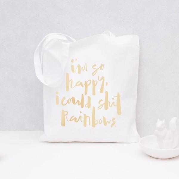 Plátěná taška Rainbows Gold