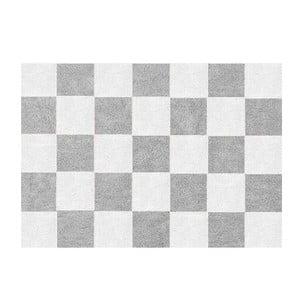 Koberec Damero 160x120 cm, šedý