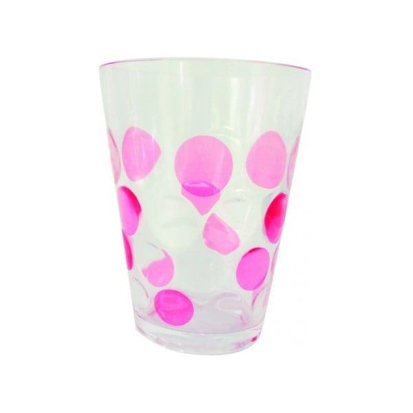 Sada malinových sklenic 250 ml, 4 ks