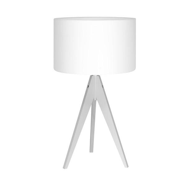 Stolní lampa Artist White/White, 40x33 cm