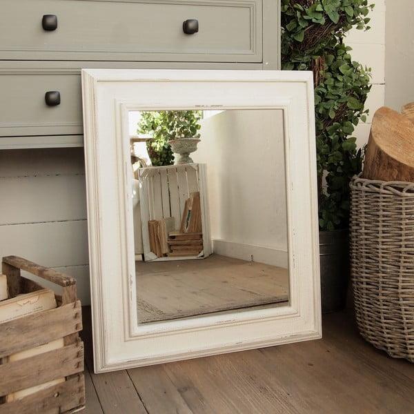 Zrcadlo White, 58x69 cm