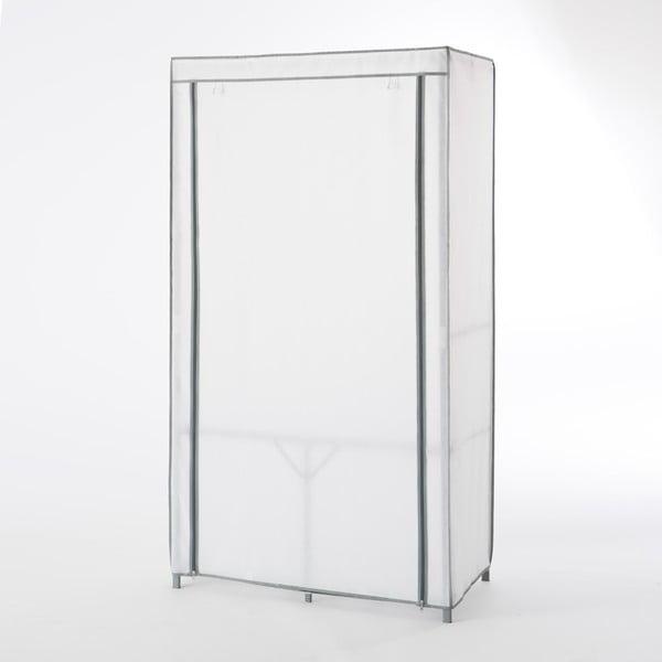 Bílá textilní šatní skříň Compactor Wardrobe Organized