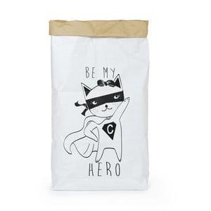 Pungă din hârtie reciclată Tanuki Be My Hero