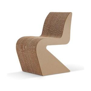 Kartonová židle Amanda Natural