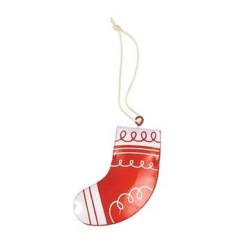 Decorațiune pictată manual pentru bradul de Crăciun Rex London Stocking de la Rex London