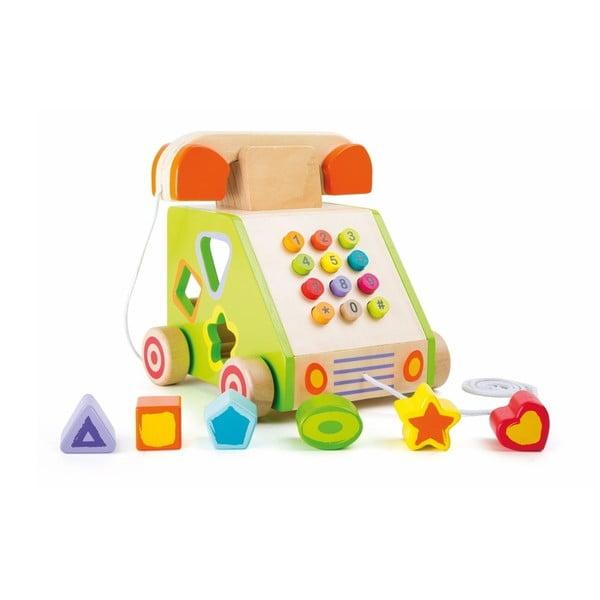 Jucărie din lemn Legler Telephone