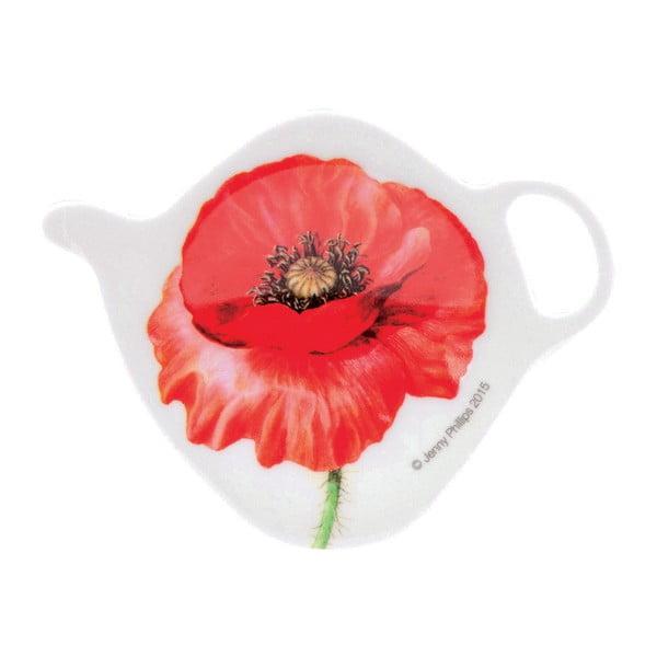 Talířek na odkládání čajových sáčků Ashdene Poppies