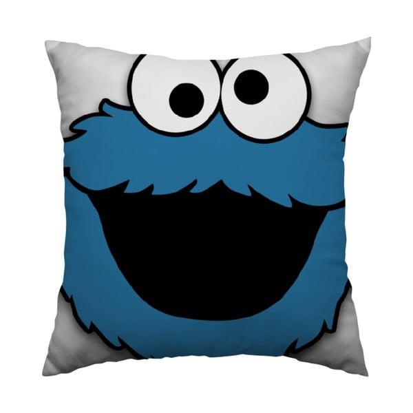 Polštář Cookie Monster, 40x40 cm