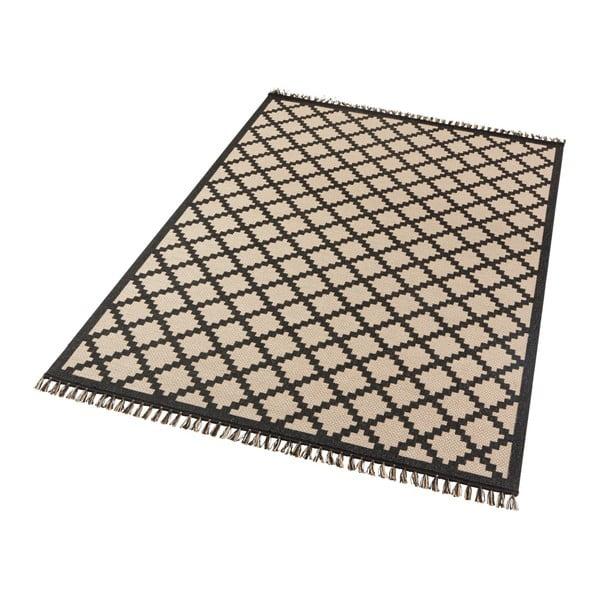 Béžovočerný koberec Hanse Home Intense Duro, 200 x 290 cm