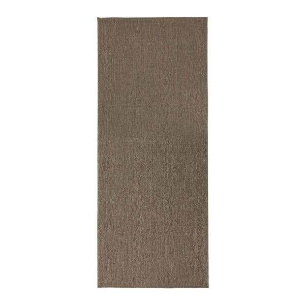 Hnedý obojstranný koberec Bougari Miami, 80×150 cm