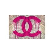 Obraz Read It The News Pink, 81 x 122 cm