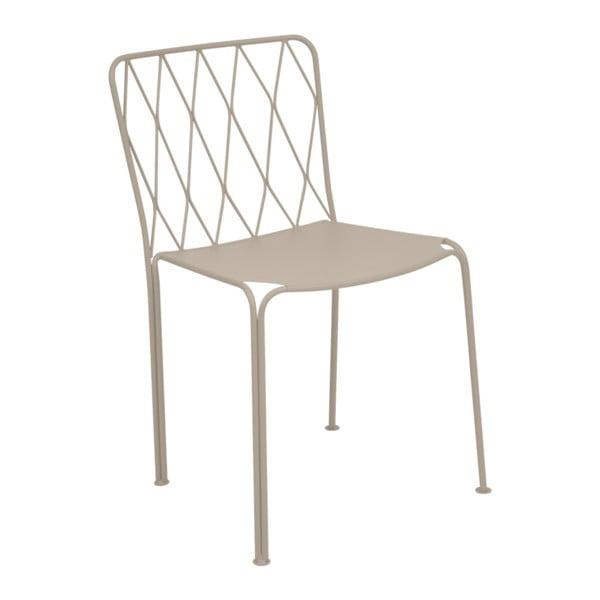 Béžová zahradní židle Fermob Kintbury