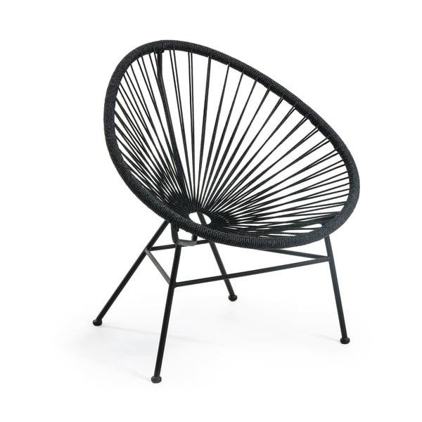 Samantha fekete fotel - La Forma