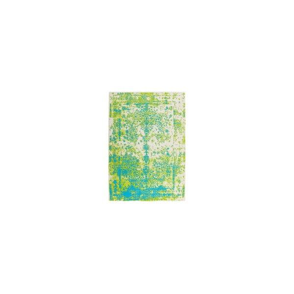 Koberec Ethno Green Blue, 80x150 cm