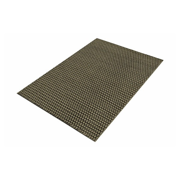 Ručně tkaný koberec Brown and Beige Kilim, 105x154 cm