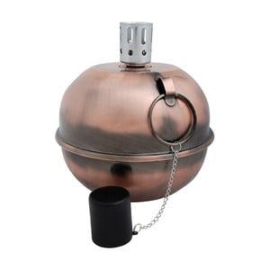 Měděná olejová lampa EsschertDesignCamping, ⌀ 20cm