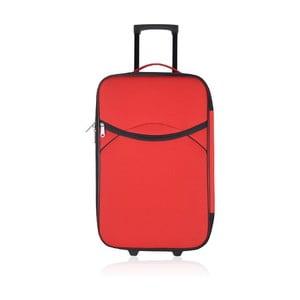 Cestovní kufr Classic Red L