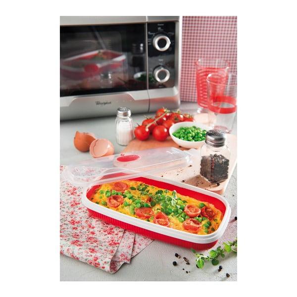 Dóza na vaření vajec v mikrovlnce Snips Poacher & Omelette, 750ml