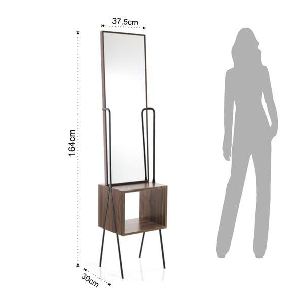 Stojící zrcadlo Tomasucci Billa, výška 164cm