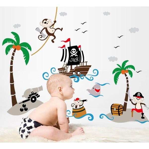 Samolepka Fanastick Pirate And Boat