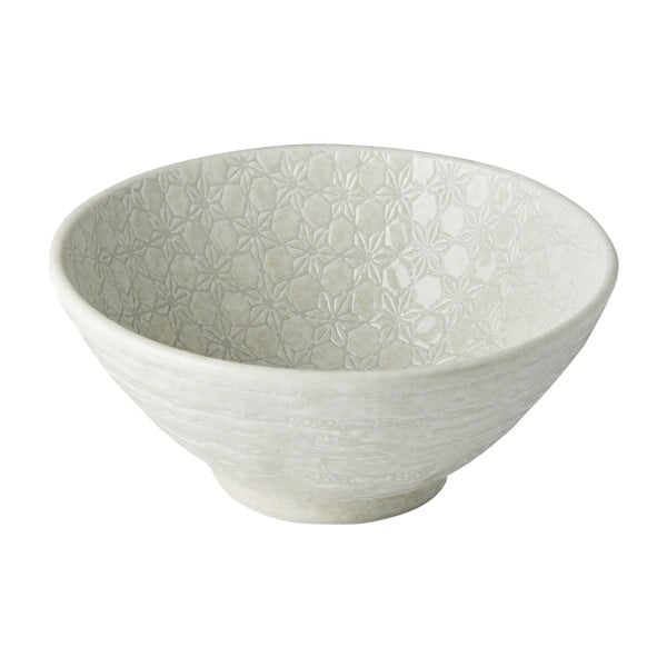 Bílá keramická miska na polévku MIJ Star, ø20 cm