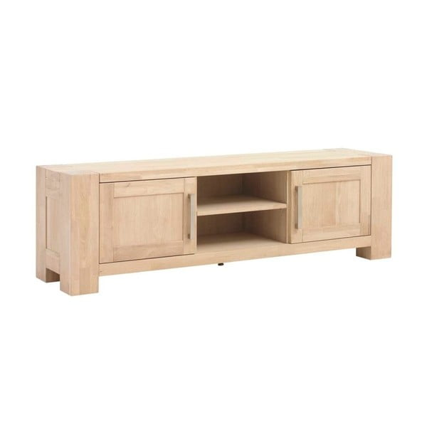 TV stolek z dubového dřeva Furnhouse Verona