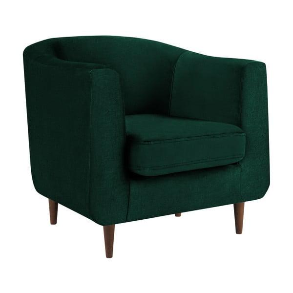 Glam sötétzöld fotel - Kooko Home