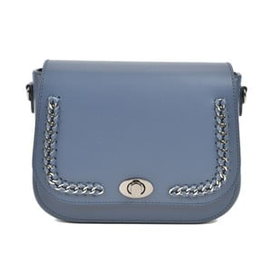 Modrá kožená kabelka Renata Corsi Hanna