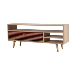 Comodă TV din lemn Agapis Red